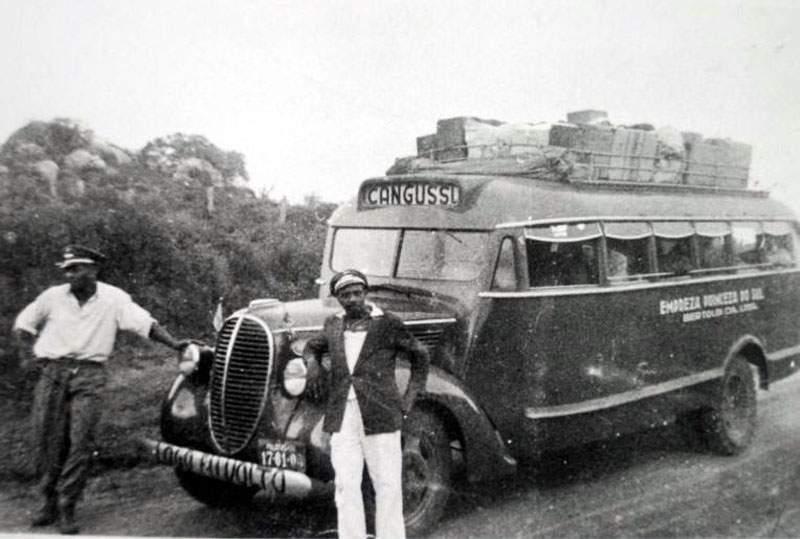 Canguçu - Ônibus Empresa Princesa do Sul.