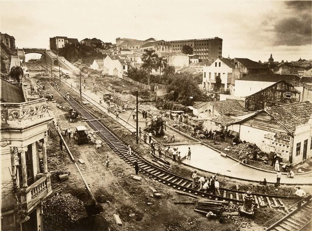 Porto Alegre Av Borges de Medeiros déc1930 (2)