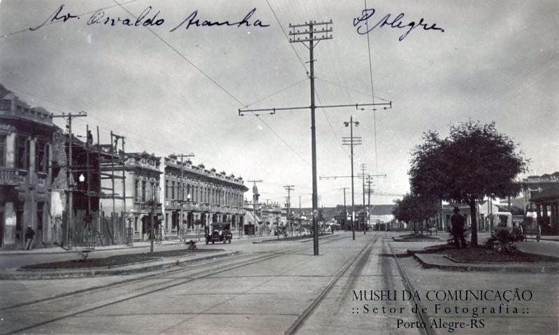 Porto Alegre - Av Osvaldo Aranha.