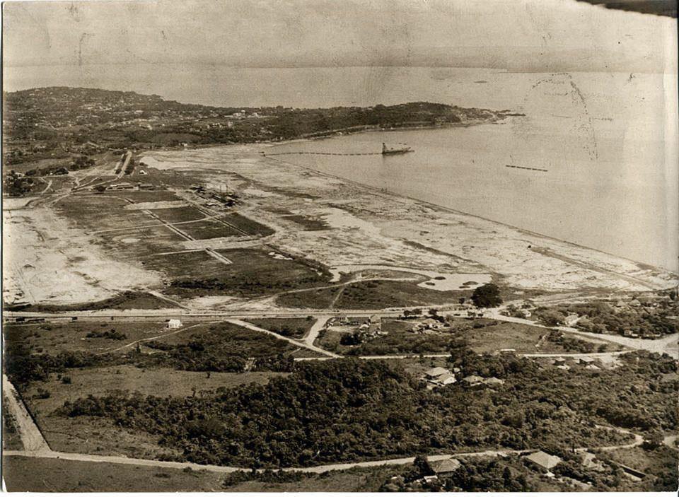 Porto Alegre - Bairro Cristal em 1954.