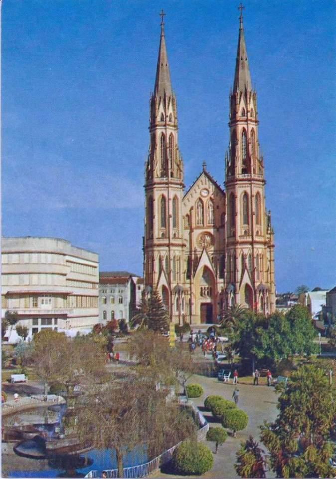 Santa cruz do sul catedral d cada 1970 for A mobilia santa cruz do sul
