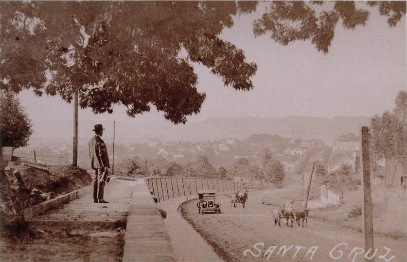 Santa Cruz do Sul Rua da República(atual Rual Mal. Floriano)(acervo Jonas Cervi Luzzani)