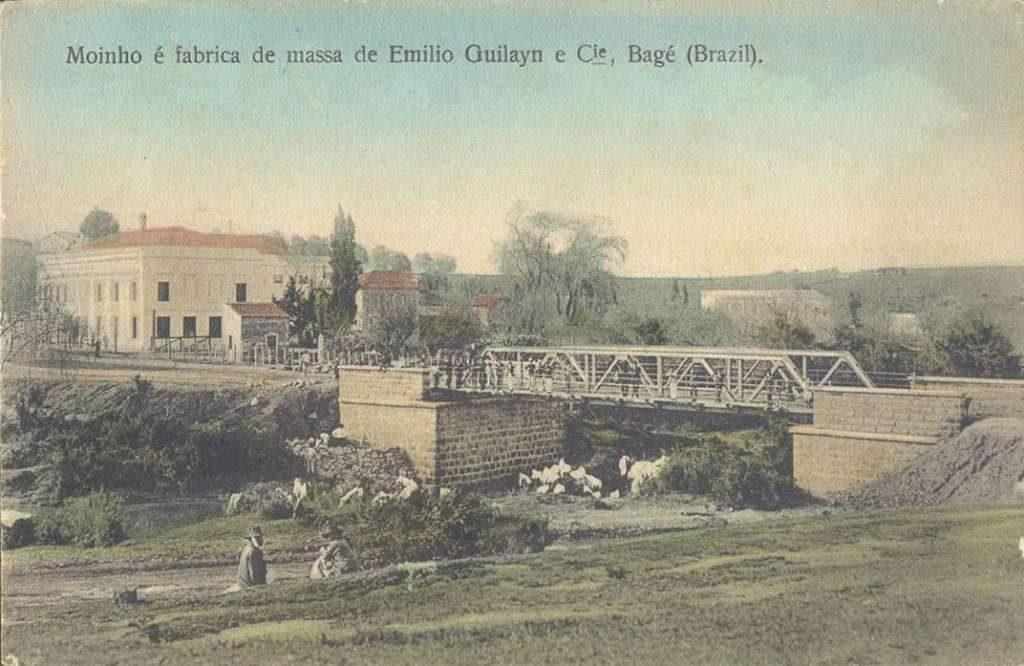 Bagé - Moinho e Fábrica de massa de Emilio Guilayn e Cia.