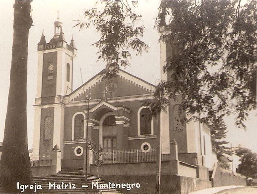 Montenegro - Igreja Matriz Católica.