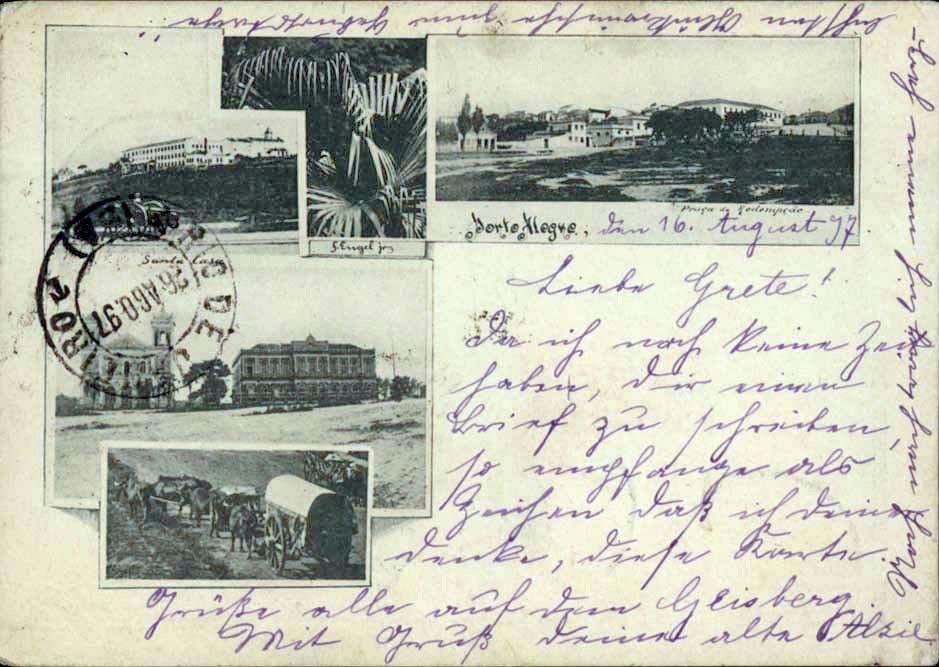Porto Alegre em 1897.