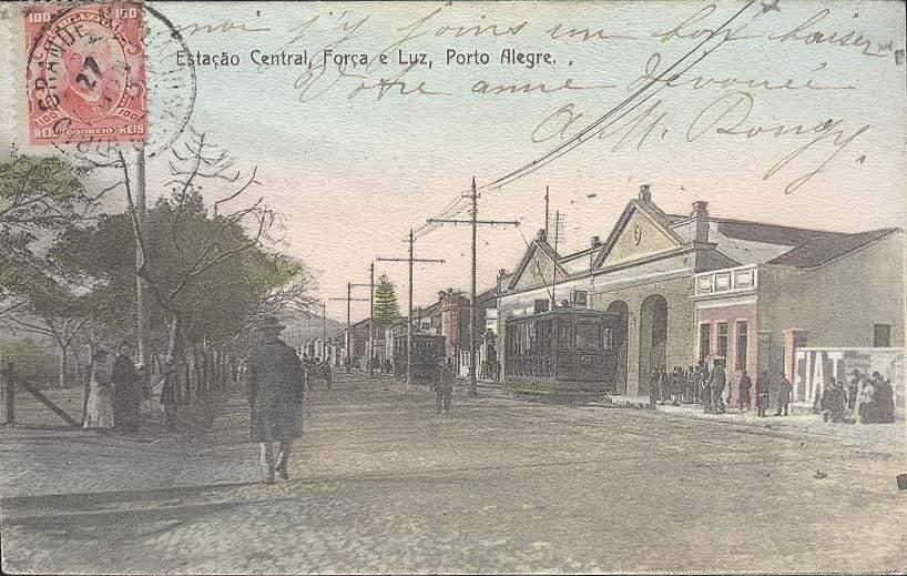 Porto Alegre - Estação Central Força e Luz.
