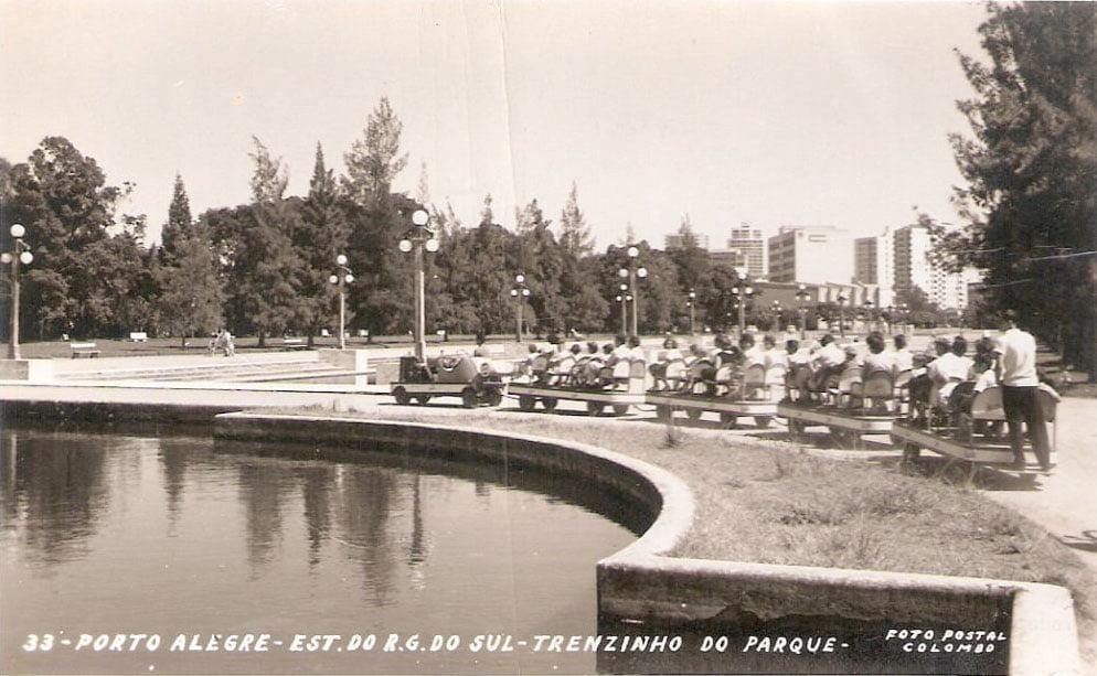 Porto Alegre - Postal do Trenzinho da Redenção.