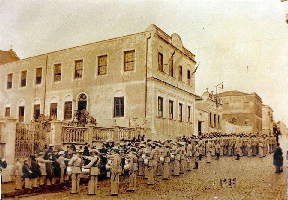 Santa Maria - Colégio Santa Maria em 1935.