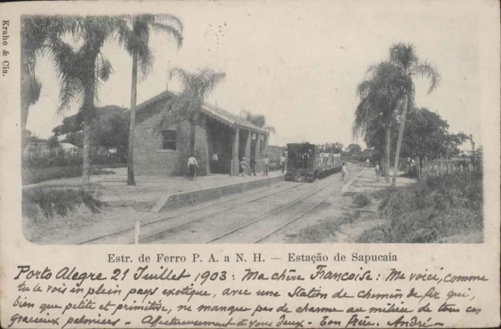 Sapucaia do Sul - Estação trem.