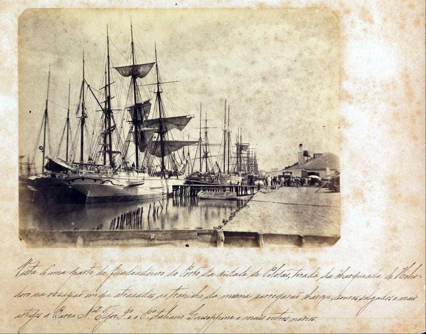 Pelotas - Navios no Porto.