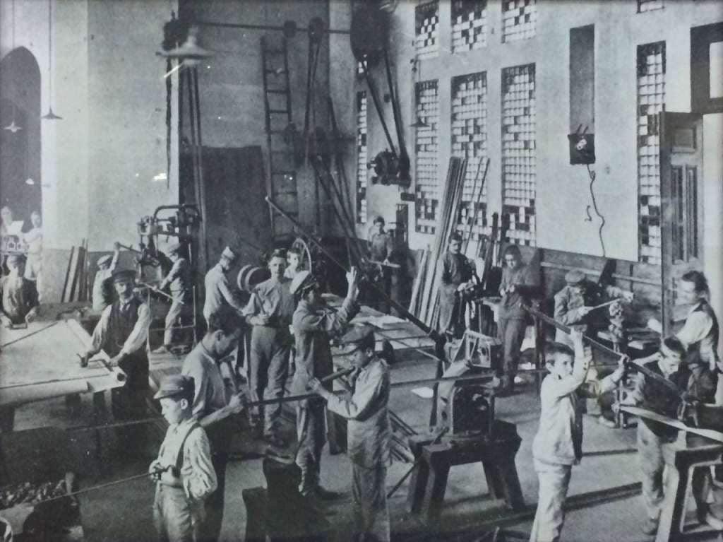 Porto Alegre - Oficinas da Escola Parobé.