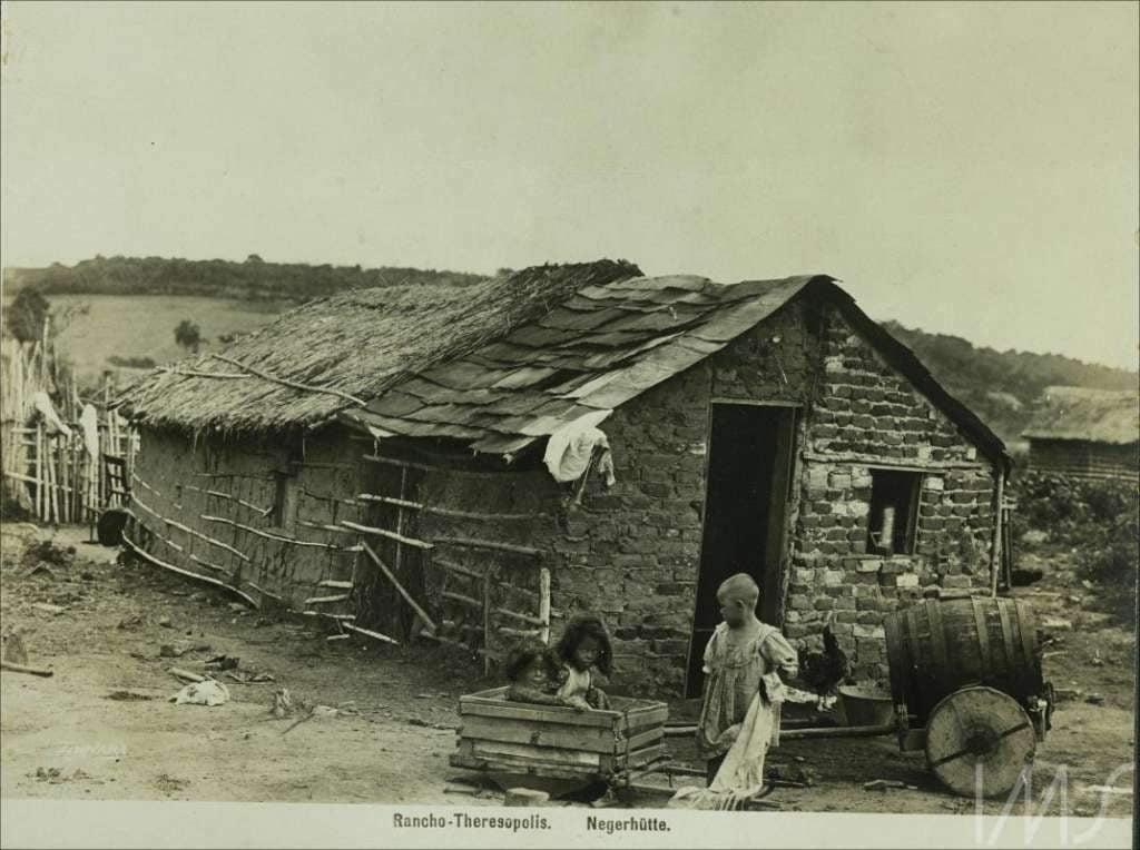 Porto Alegre - Rancho Theresopolis em 1910.