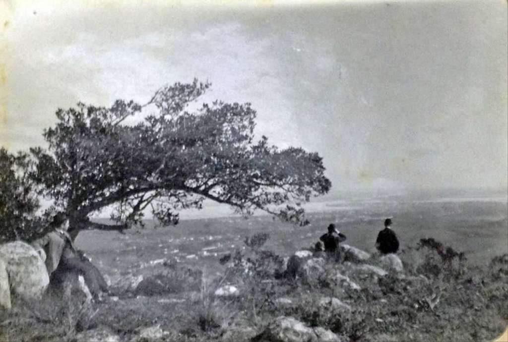 Porto Alegre - Vista do Morro do Osso no início do século XX.
