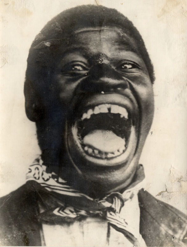 Negro liberto em 1900.