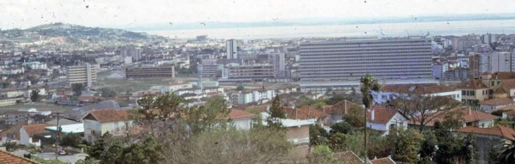 Porto Alegre - Vista Panorâmica em 1967.