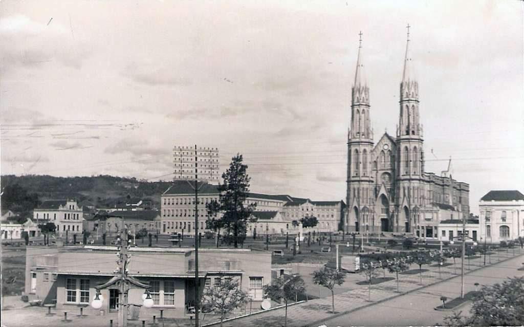 Santa Cruz do Sul - Igreja Matriz.