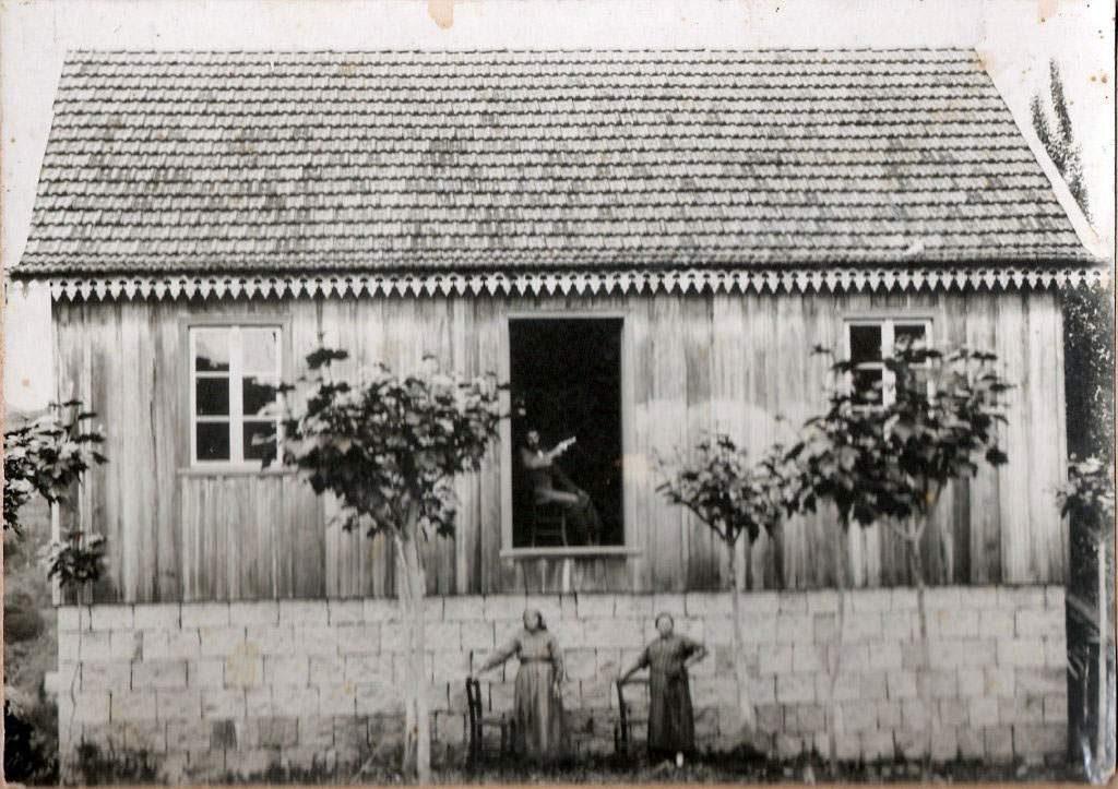 Bento Gonçalves - Casa de Giacomo Bernard na década de 1920.