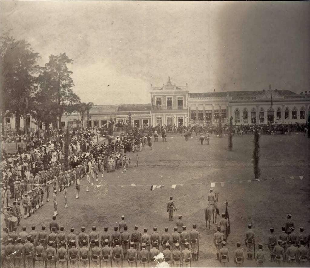 Jaguarão - Evento com militares.