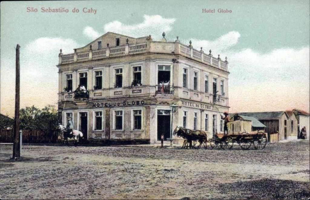 Postal - São Sebastião do Caí  - Hotel Globo.