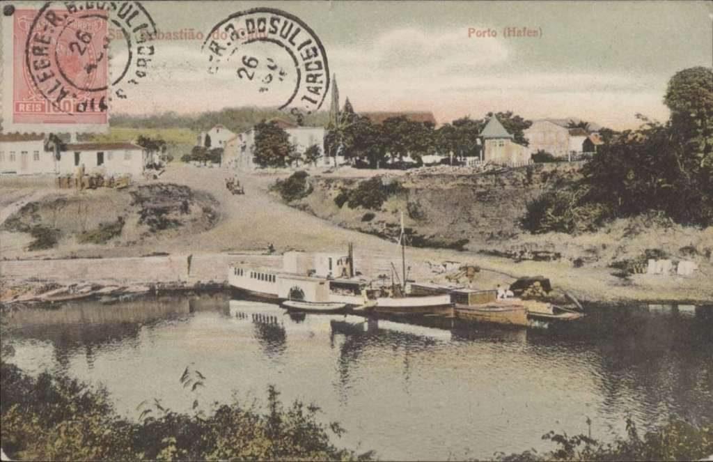 São Sebastião do Caí - Postal do porto.