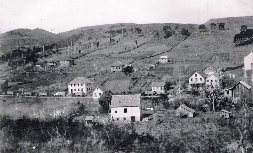Bento Gonçalves - São Pedro na década de 1950.