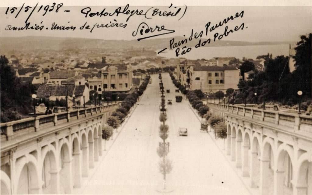 Porto Alegre - Av Borges de Medeiros em 15/05/1938.