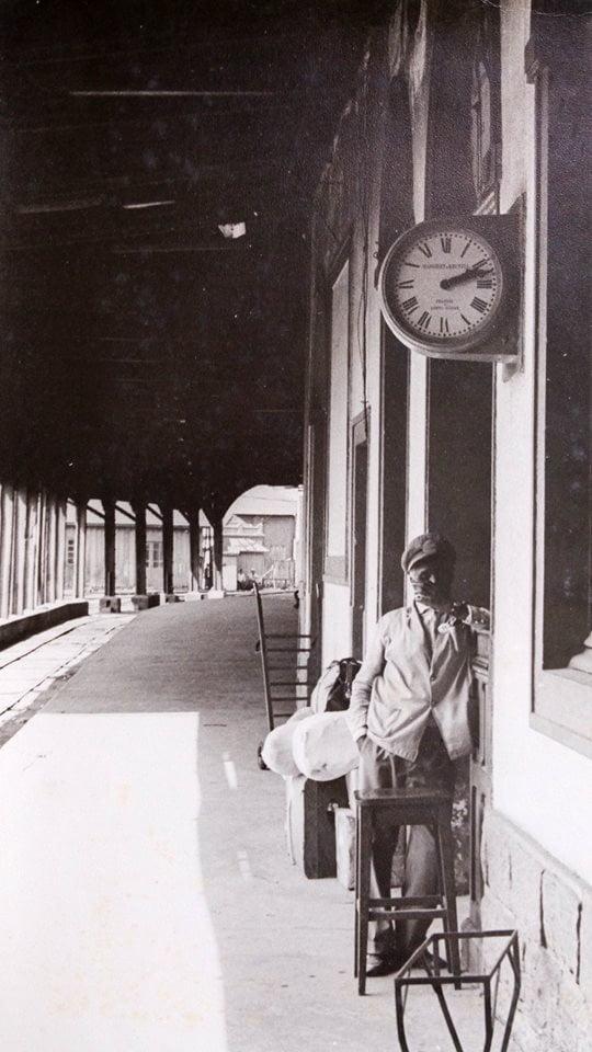 Porto Alegre Estação Férrea(foto José Roque Guimarães) déc1970