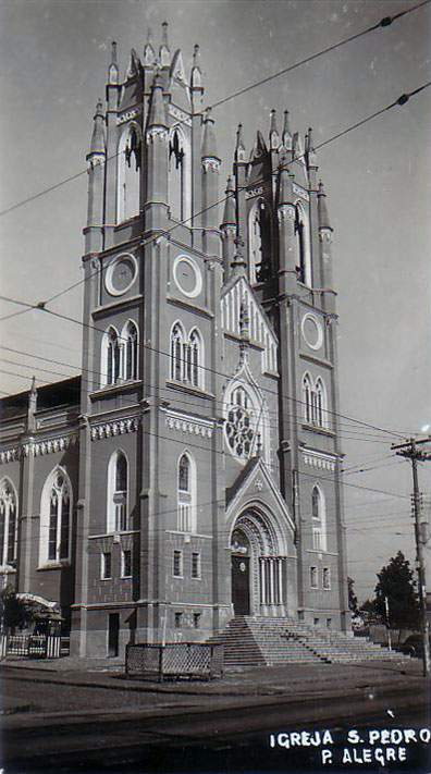 Porto Alegre - Igreja São Pedro.