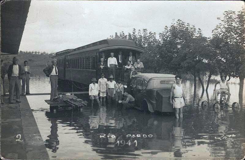 Rio Pardo - Enchente 1941.