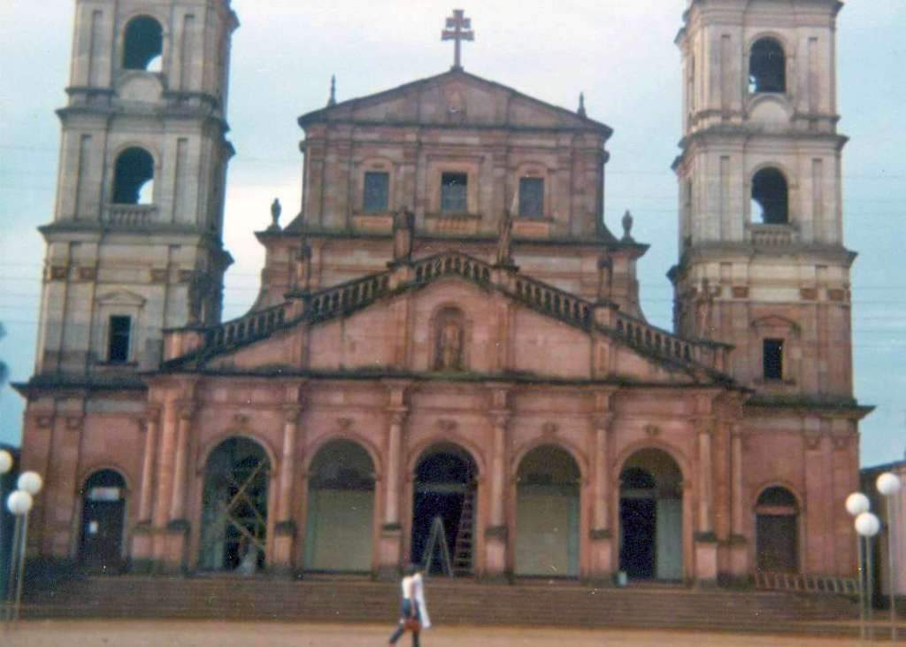 Santo Angelo Igreja Matriz(acervo Luiz Henrique da Rocha) 1980