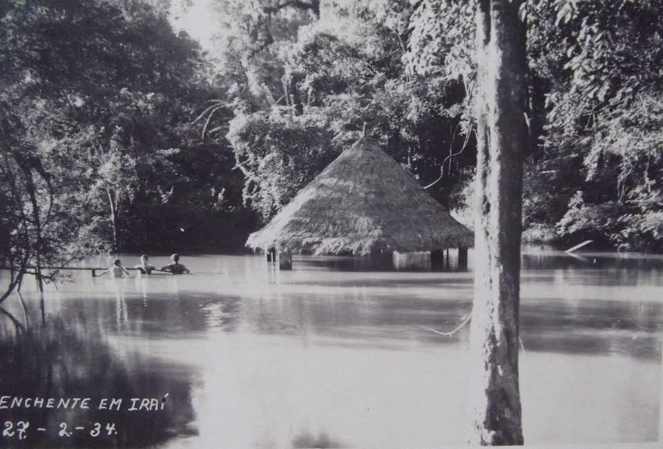 Iraí - Enchente em 27/02/1934.