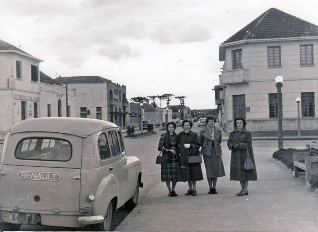 Camaquã na década de 1950.