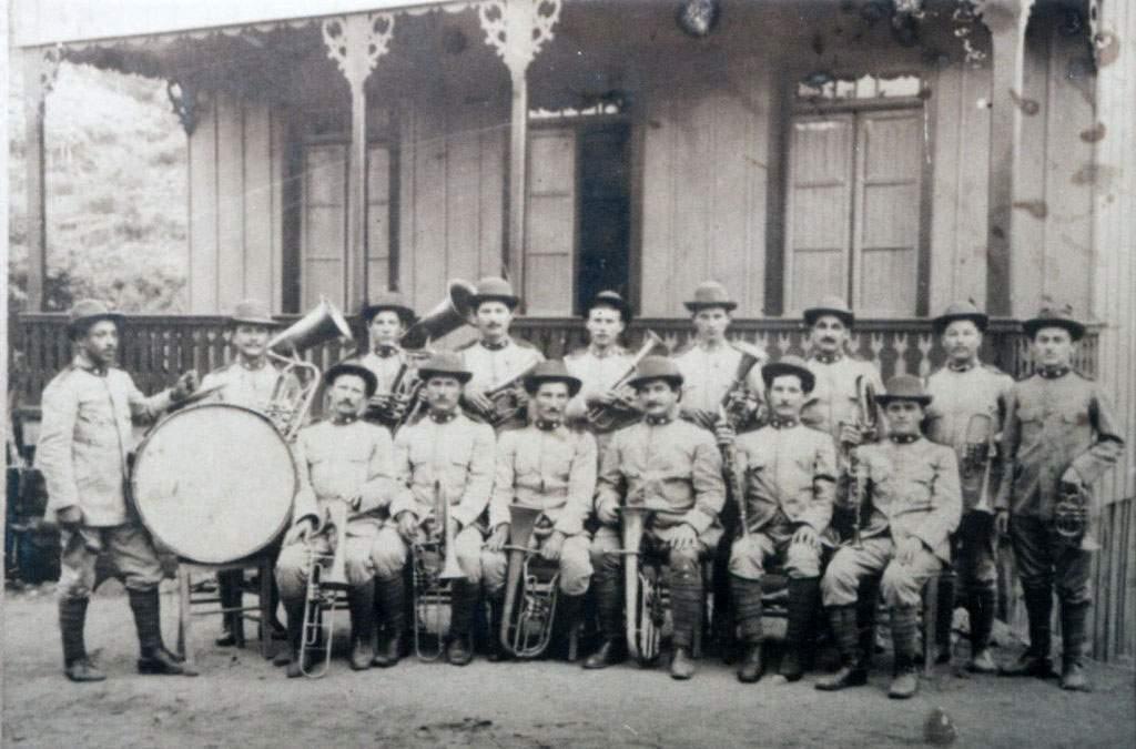 Bento Gonçalves - Banda de São Pedro na década de 1910.