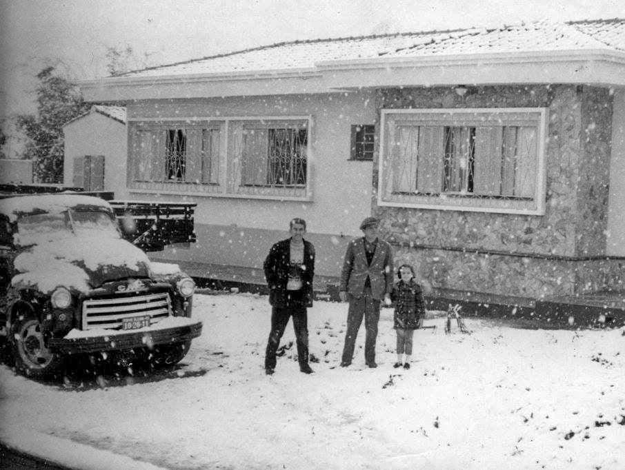 Passo Fundo Neve 20-08-1965