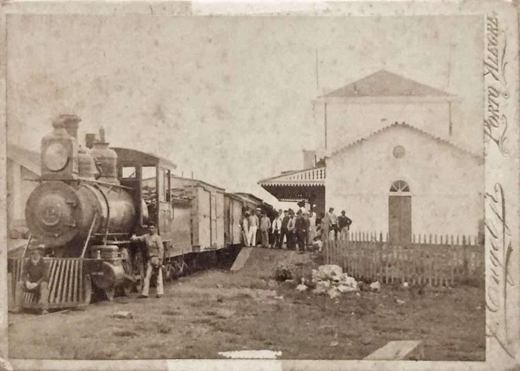 Porto Alegre Estação estrada de ferro(estúdio F Engel Jr)