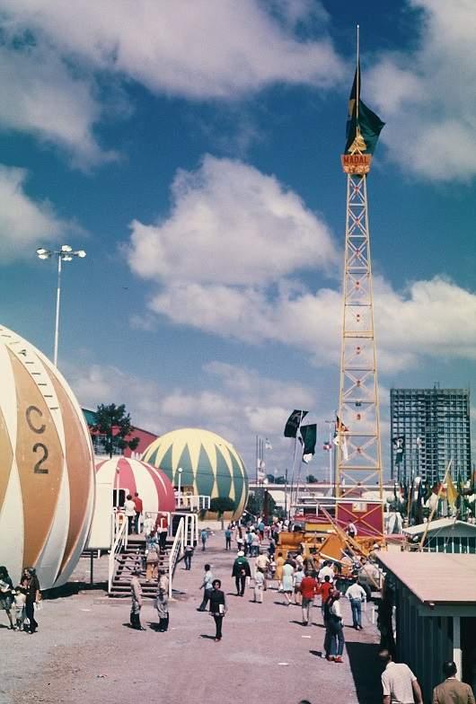Caxias do Sul - Parque Festa da Uva em fevereiro de 1972.