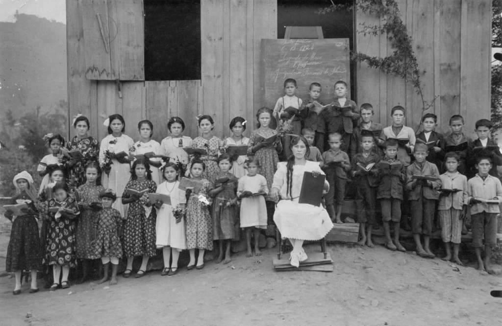 Lajeado - Aula pública em 06-12-1924.