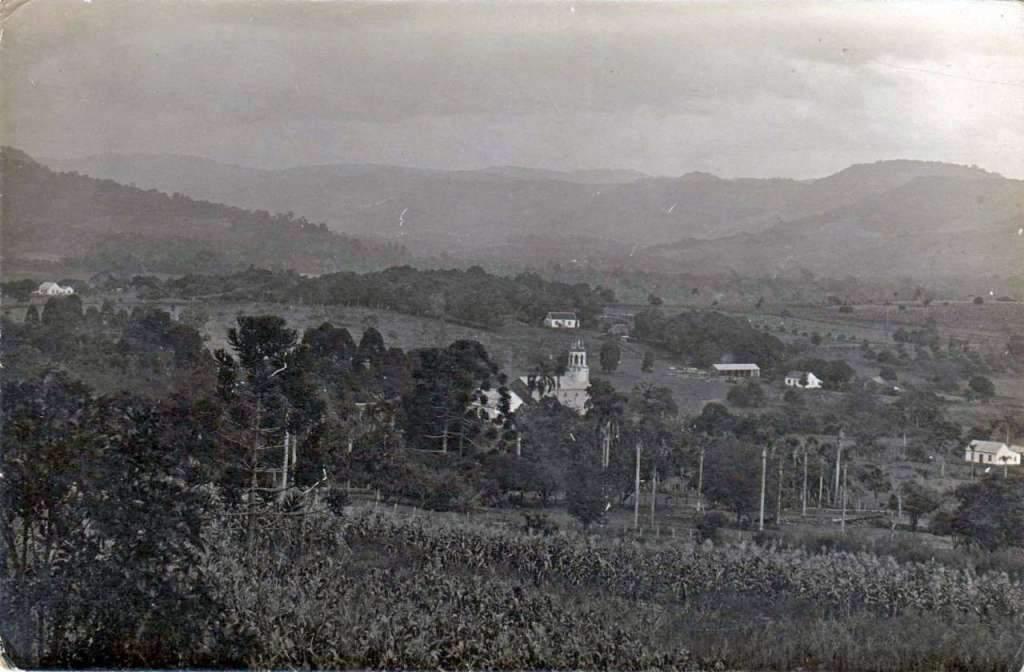 Lajeado - Vista no início do século XX.