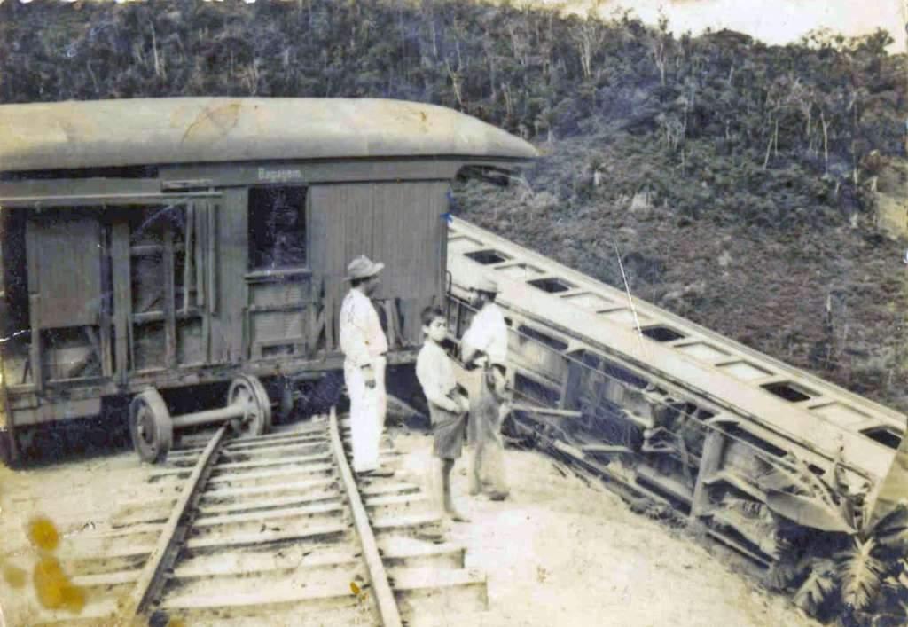 Montenegro - Acidente ferroviário em Fanfa em 1968.