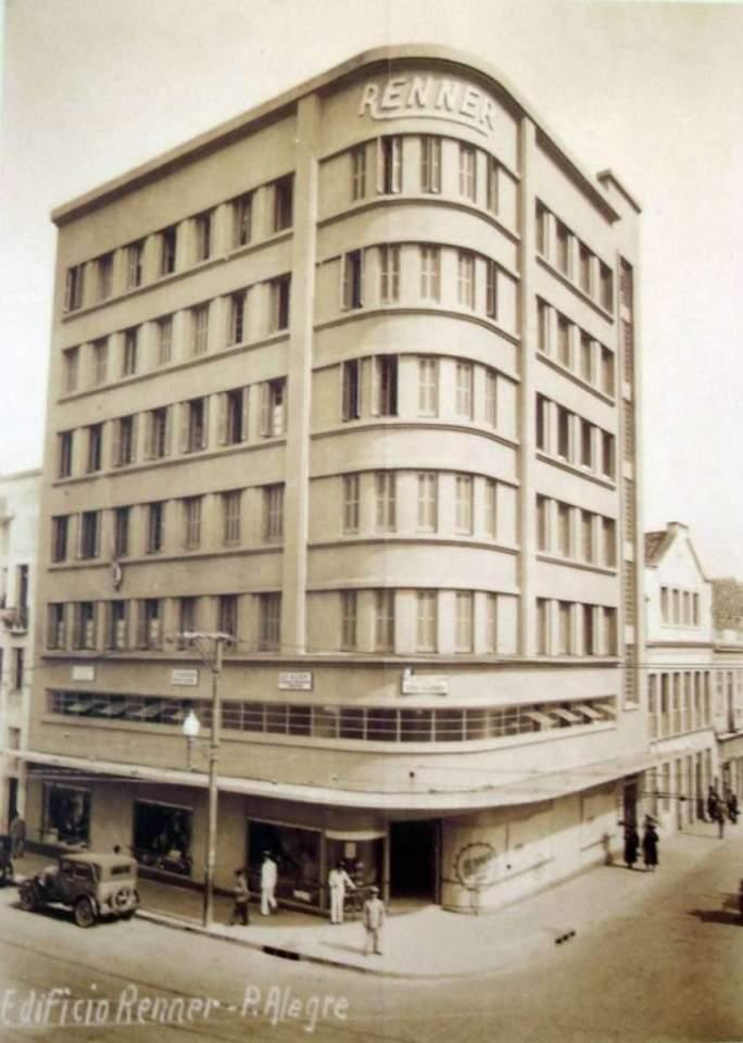 Porto Alegre - Fábrica A J Renner e Companhia na  década de 1920.