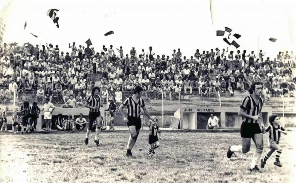 Bagé - Estádio da Pedra-moura na década de 1970.