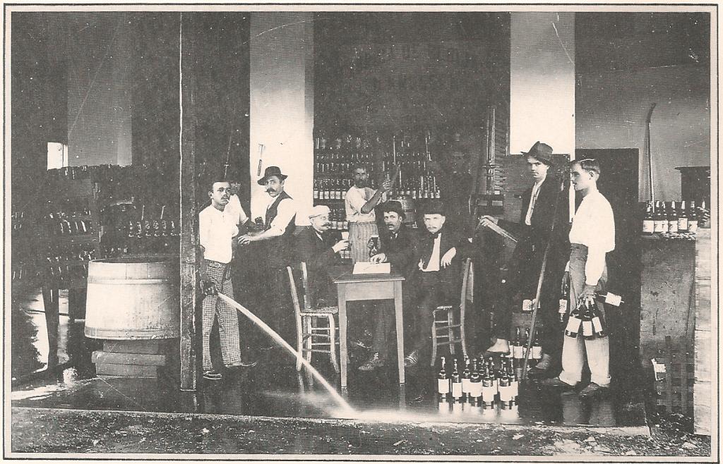 Ijuí - Fábrica de bebidas em 1914.