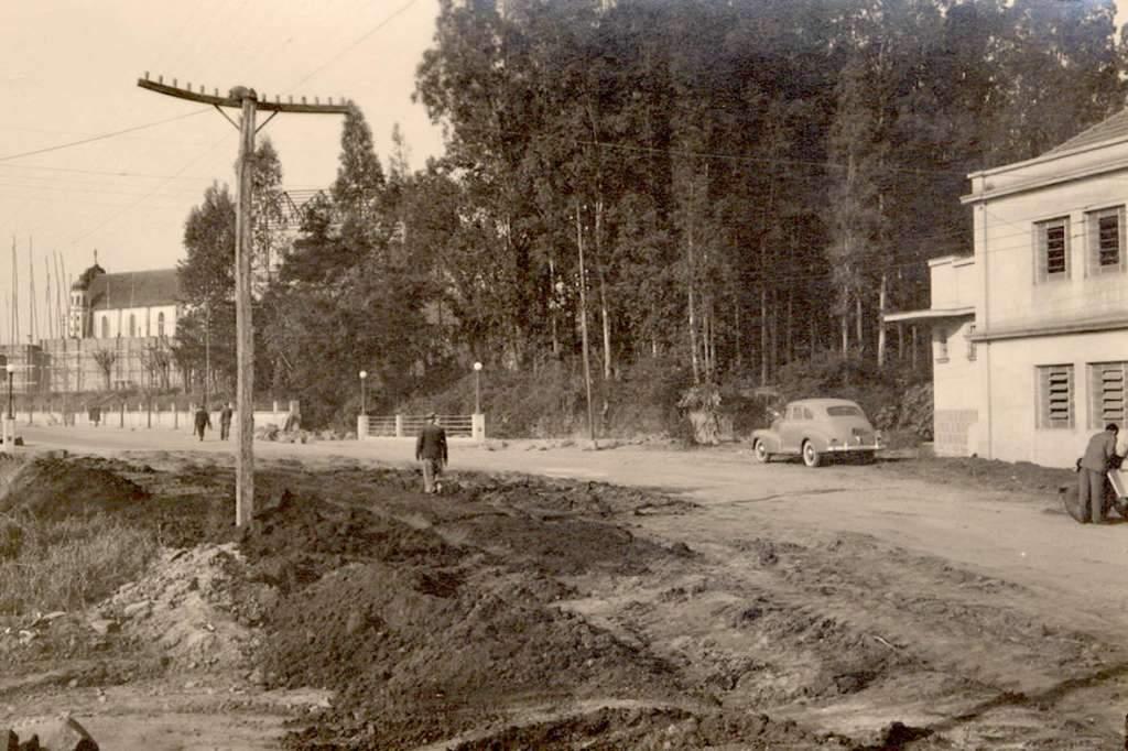 Novo Hamburgo - Rua Joaquim Nabuco na década 1950.