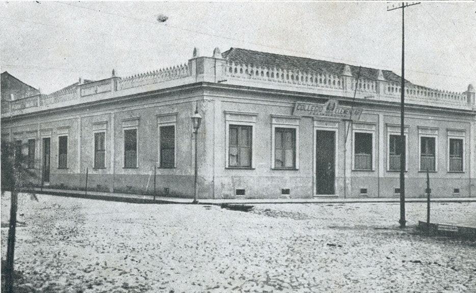 Pelotas - Colégio Elementar Félix da Cunha na década de 1930.