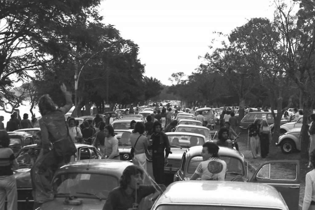Porto Alegre Bairro Ipanema na década de 1970.