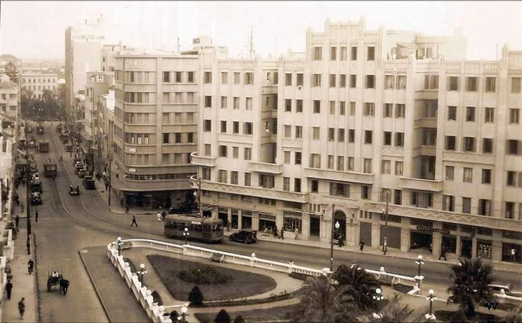 Porto Alegre - Casa das Molduras - Avenida Otávio Rocha e Praça em 1930.