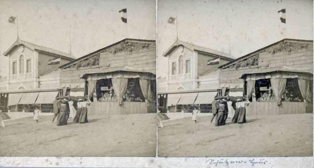 Porto Alegre - Sociedade Schütz Verein(foto estereoscópica) do final do século XIX.
