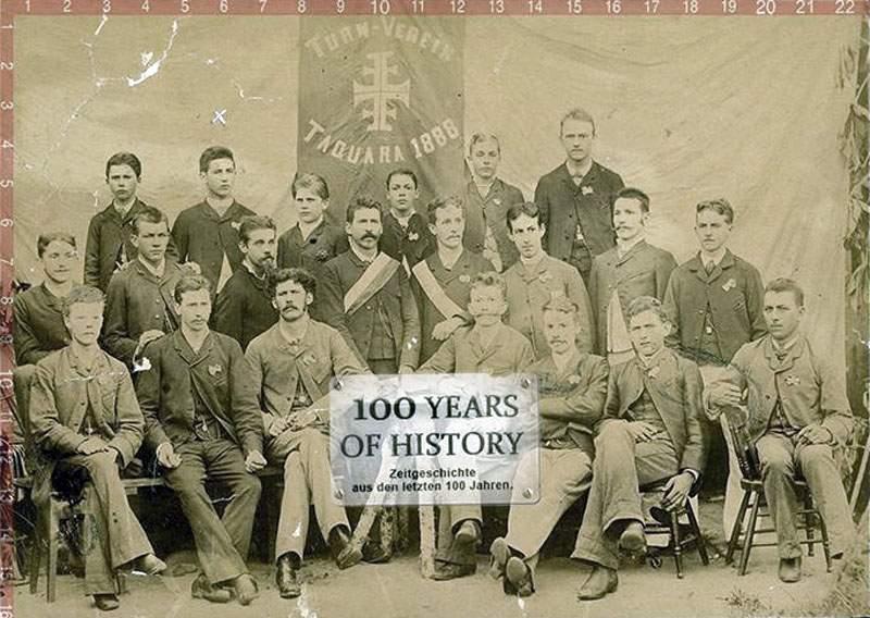 Taquara - Clube Turnverein (Ginástica e Exercícios Físicos) em 1888.