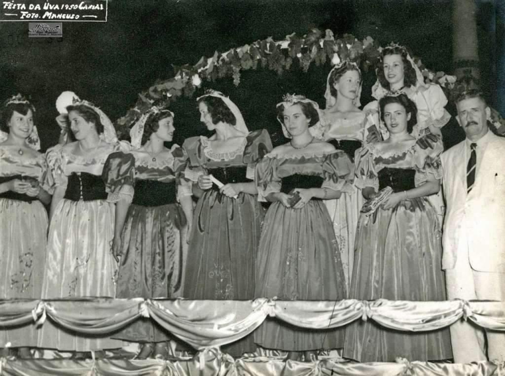 Caxias do Sul - Festa da Uva de 1950.