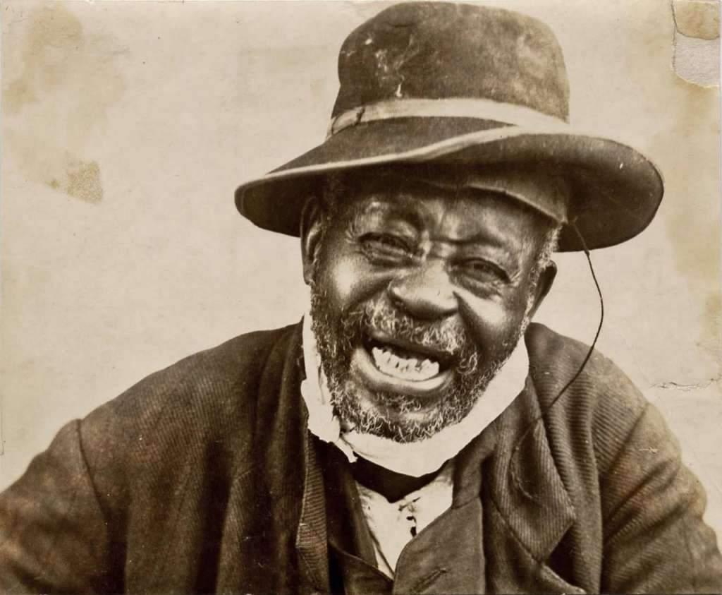 Escravo liberto no final do século XIX.